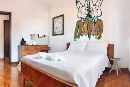 GUEST ROOM - ARTSY Apt - near to Allianz Park