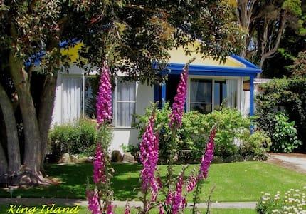 King Island's Wattlebird Cottage - Naracoopa - 小木屋