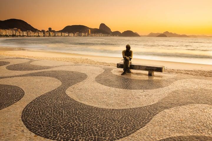 ❤︎ Super Fun ☺︎ Hostel near Copacabana Beach ☯︎