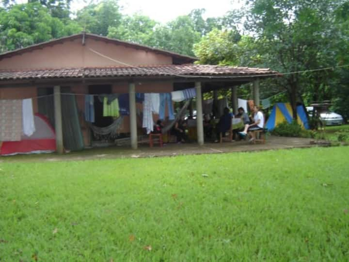 Aconchegante casa na beiradinha do Araguaia