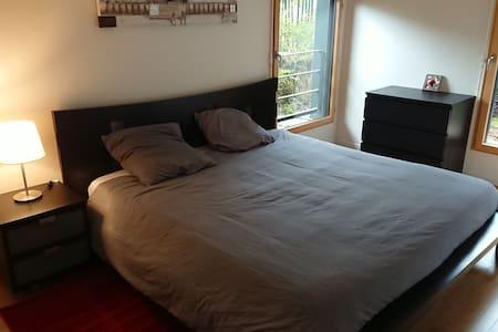 Chambre avec grand lit proche Versailles et Paris