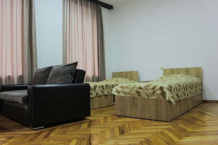 Irakli's studio apartment