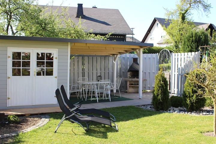 Idyllisches Apartment in Mastershausen in Waldnähe