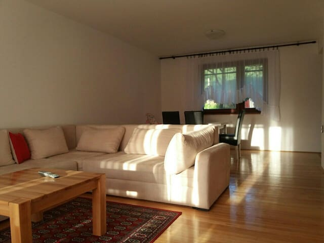 Comfortable apartment with garden and view 75 sqm
