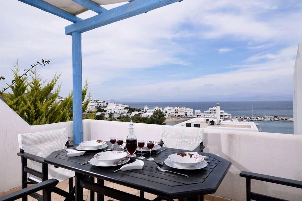 paros piso livadi sea view maisonette villen zur miete in griechenland. Black Bedroom Furniture Sets. Home Design Ideas
