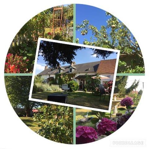 Week-end à la campagne proche de Giverny, Andelys