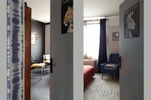 Portes entrouvertes sur les chambres