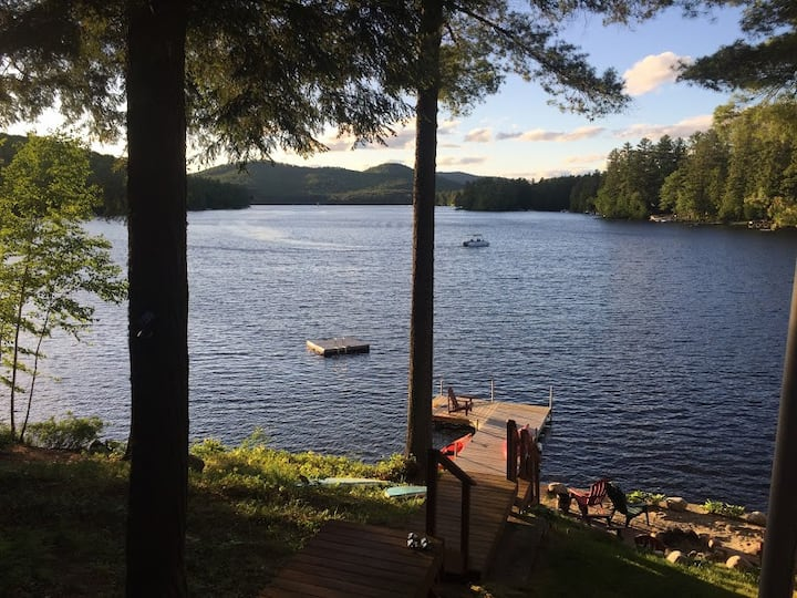 Adirondack House on Loon Lake