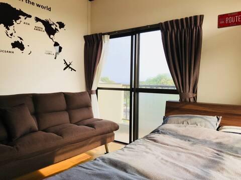 Chic & cozy/ 2 guests / Room①