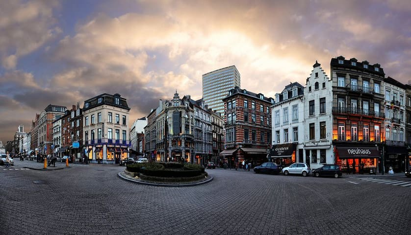 Just the Best.. area of Brussels; Chic & Cosy - Bruxelles - Casa