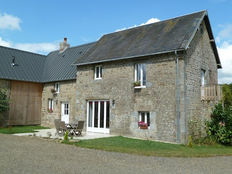 Holiday home in rural Normandy