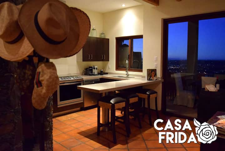 Casa Frida 2Bed - Luxurious view/Free Wifi/Parking