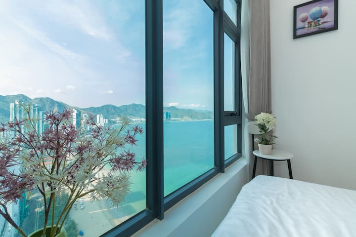 Amazing view from the master bedroom