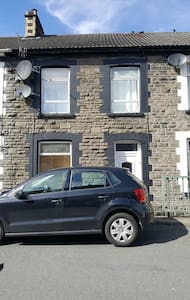 Double Room in a traditional stone built home - Pontypridd - Haus