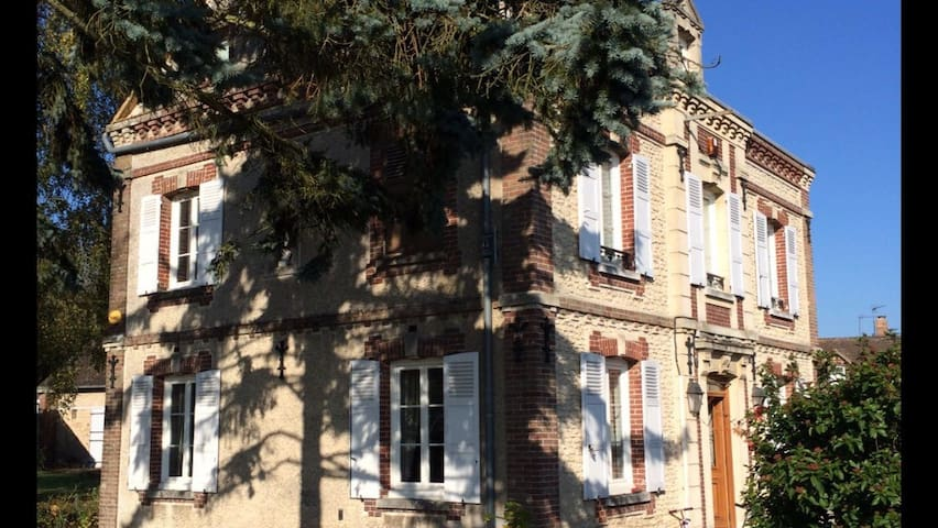Family friendly home, 1hr Paris/Rouen, nr Giverny