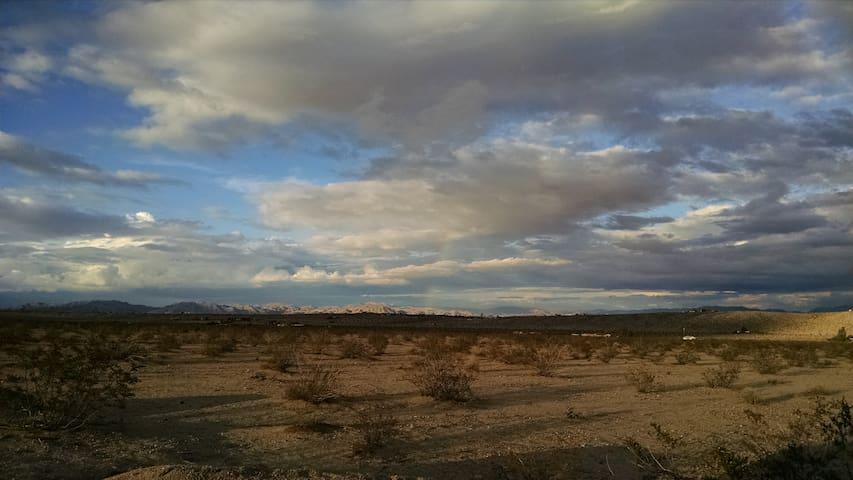 Dirtbag Campground - Site 7 - Twentynine Palms - Tent