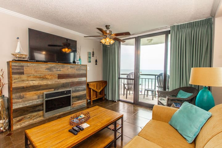 Panoramic Ocean Front Views!~King Suite~Meridian Plaza 804