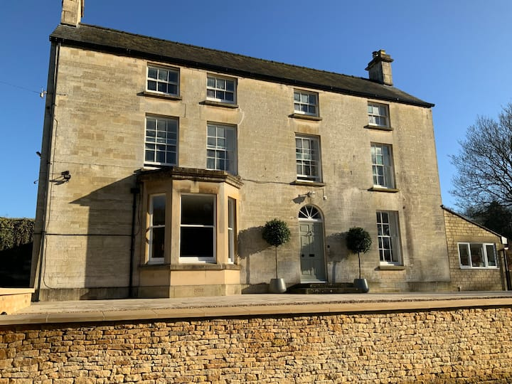 Cotswold 18th century former mill owners house