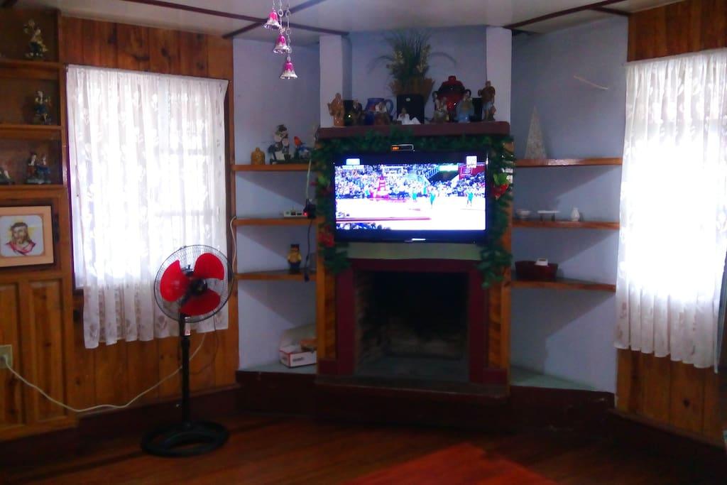 Living Room/Sala Area/TV viewing