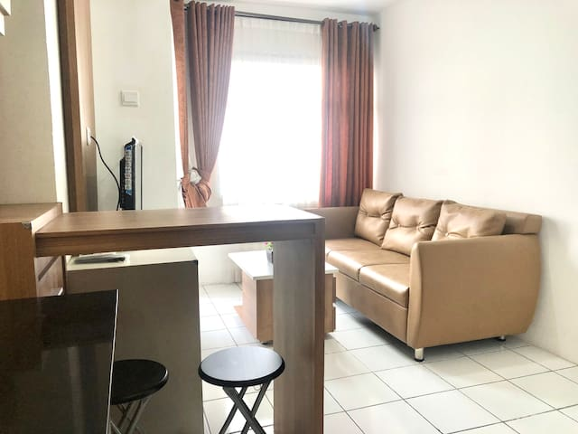2BR Classic Apartment  Grand Asia Afrika Residence
