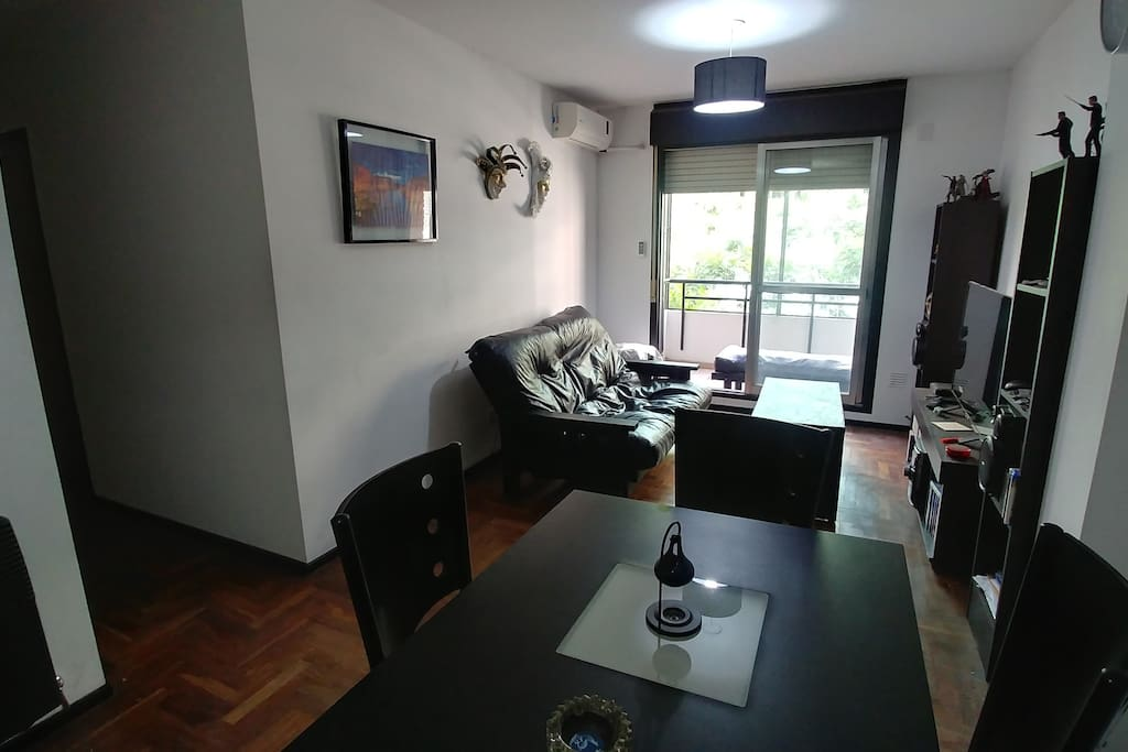 Living comedor / Living and dining room