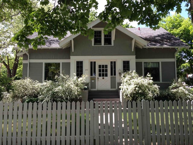 Historic Craftsman home in central neighborhood