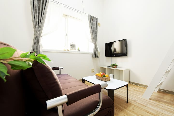 #106☆budget room/5 mins on foot from Otaru Sta.
