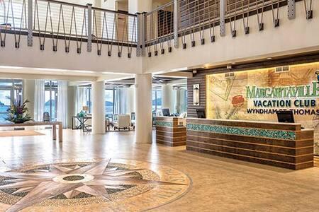 Wyndhams Jimmy Buffet Margaritaville Resort - East End - Timeshare (právo užívat zařízení pro ubytování na stanovený časový úsek během roku na mnoho let dopředu - minimálně 3 roky)