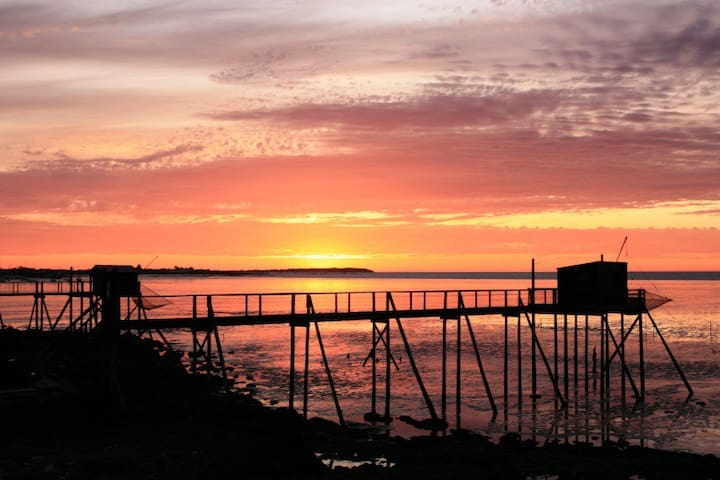 Maison de pêcheur en bord de mer - Fouras - Townhouse