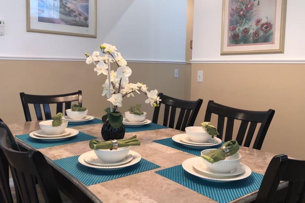 Dining room / Sala de jantar