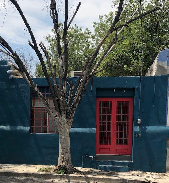 Rinconcito tranquilo en el centro de Monterrey