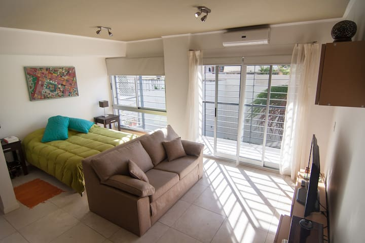 Exclusive Studio near Palermo WIFI, Laundry. - Buenos Aires - Flat