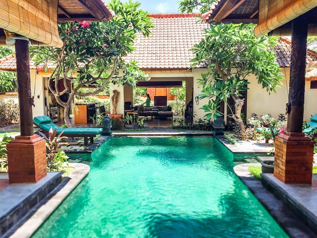 Beautiful private & spacious villa in Pemuteran