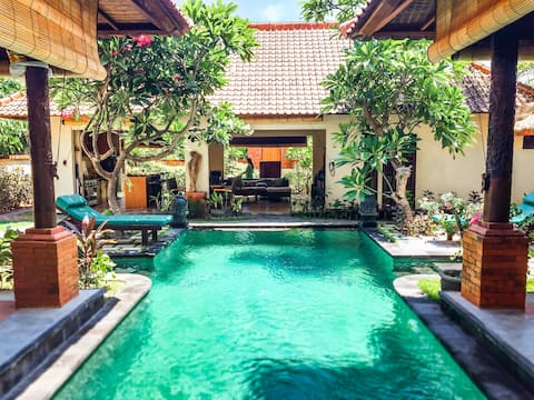 Beautiful private & spacious villa in Pemuteran
