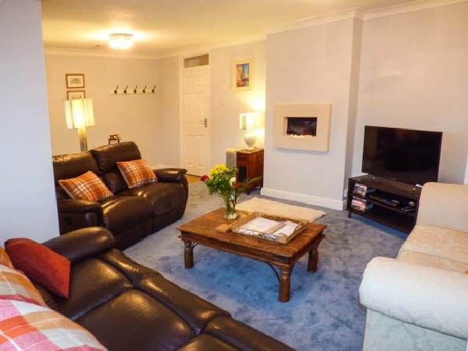 Relax in your spacious sitting room