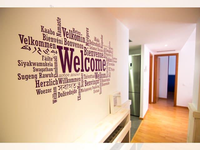 Apartamento NUEVO en Sitges, céntrico