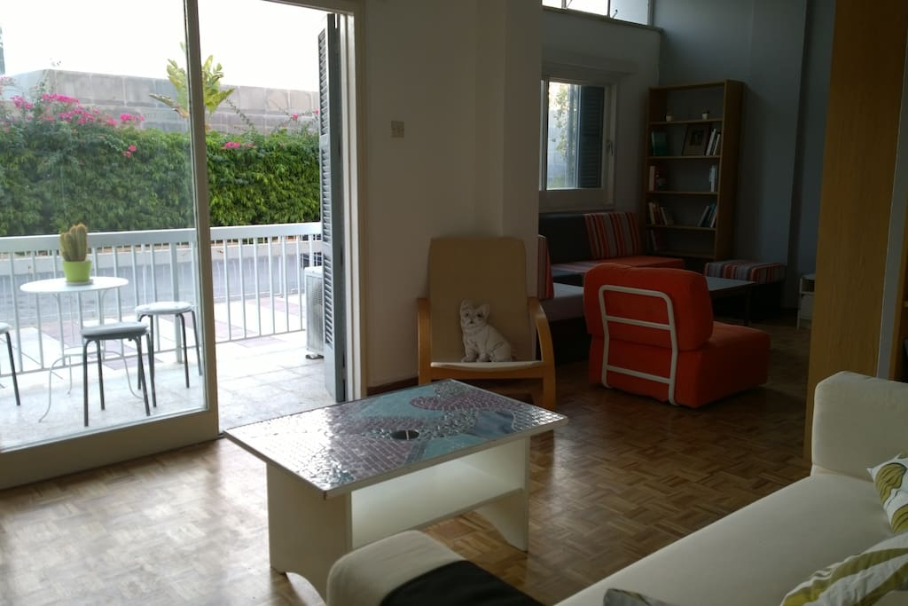 Beautiful apartment in the heart of nicosia apartments for Balcony nicosia