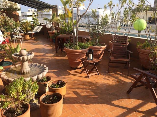 Soleil et espace au coeur de Agdal - Rabat - Apartamento