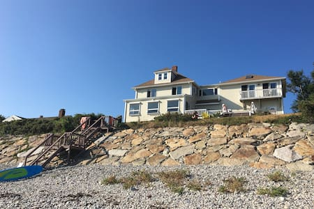 Exquisite 5 BR 4 bath Ocean Front w private beach! - Plymouth - Maison