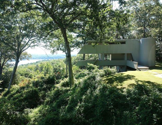 Modern Unique Riverview Hillside Home ★★★Views!