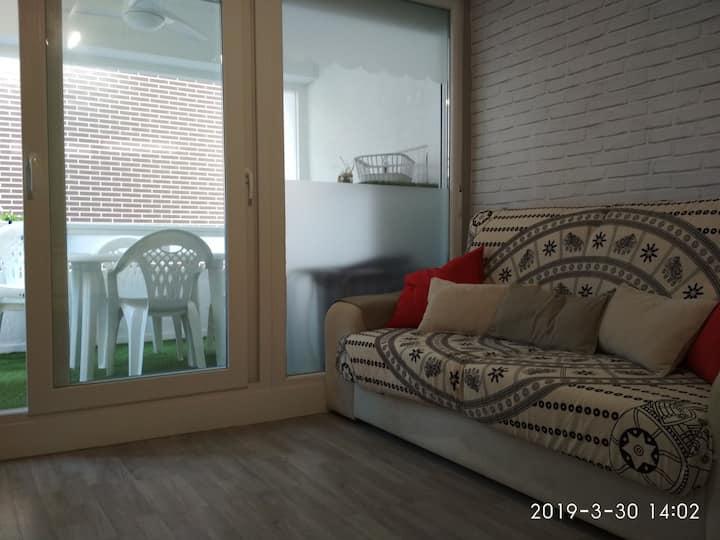 Etxalo, apartamento con terraza en Gorliz