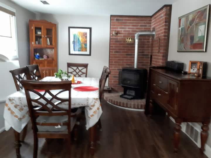 Private  basement apartment near Grand River