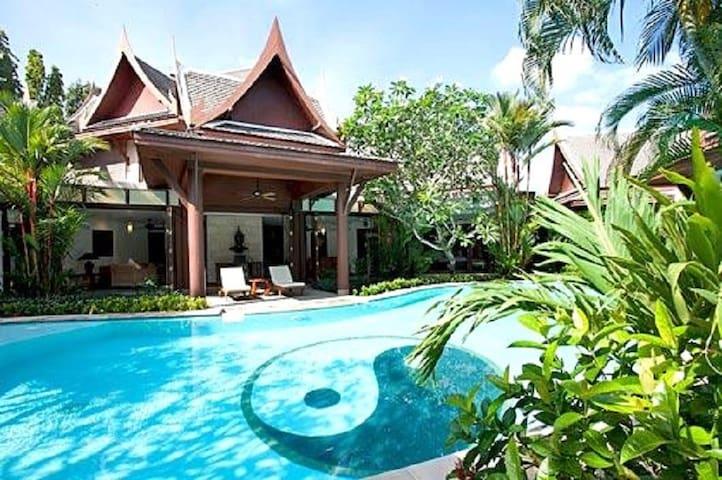 6-8 bedrooms Phuket fully serviced villa - Phuket - Villa