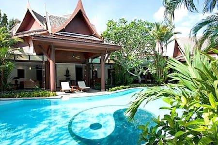 6-8 bedrooms Phuket fully serviced villa - Phuket