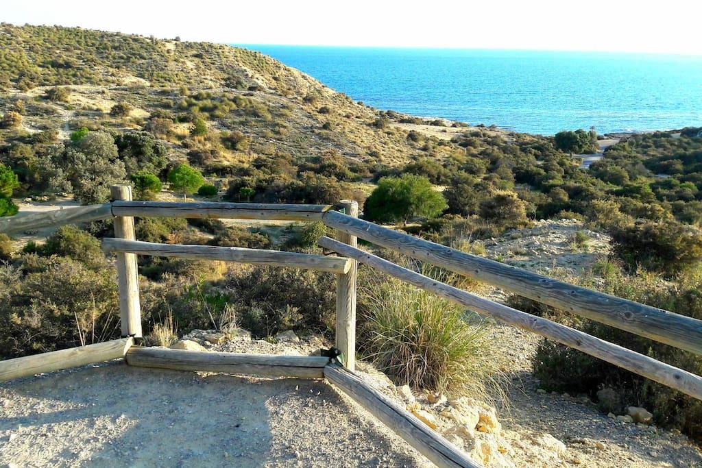 Playa del Cabo de las Huertas. Cala Cantalar.