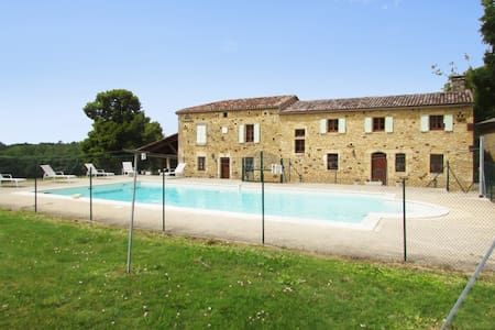 Spacious house in Soulaures with pool - Soulaures