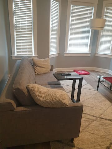 Sofa bed for rent in cute apartment in Pigtown