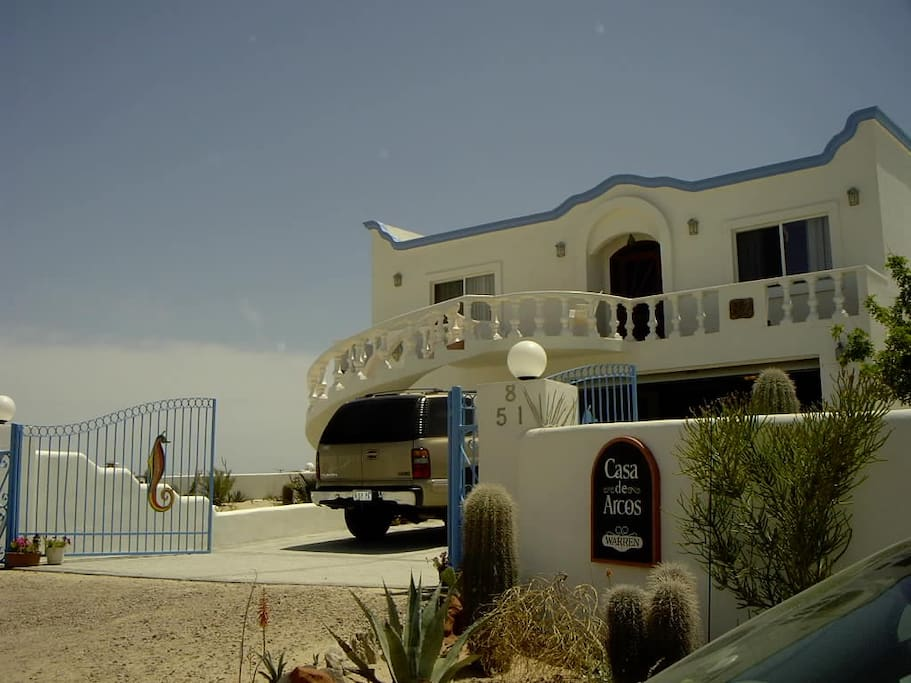 Front Entrance to beach house