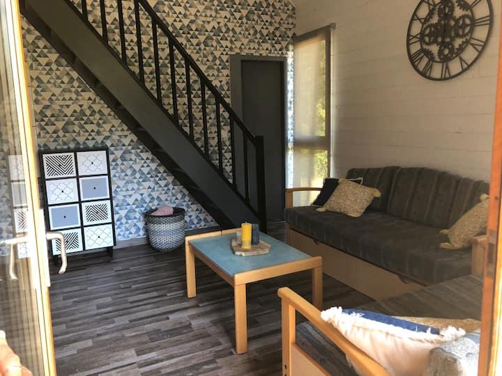 Cottage 6 personnes dans domaine privé