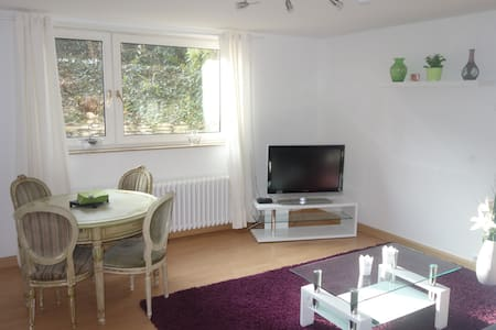 Feelgood charm with Aaseelage-The Aaseelounge 54m² - Münster - Pis